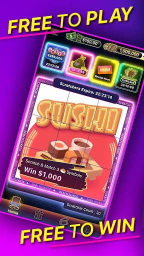 lucky night - free lottery games, real rewards screenshot 1