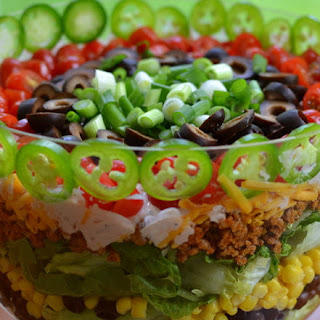 Layered Taco Salad.