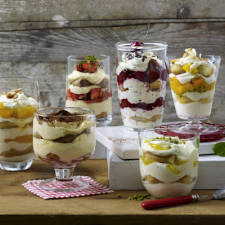 Exotic Fruit Tiramisu.