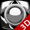 Next Launcher Theme g. silver icon