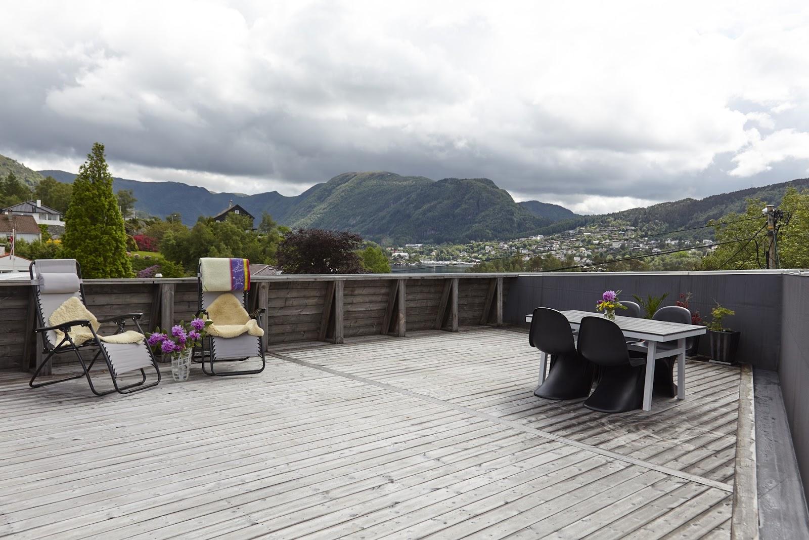 bæredygtigt terrasse