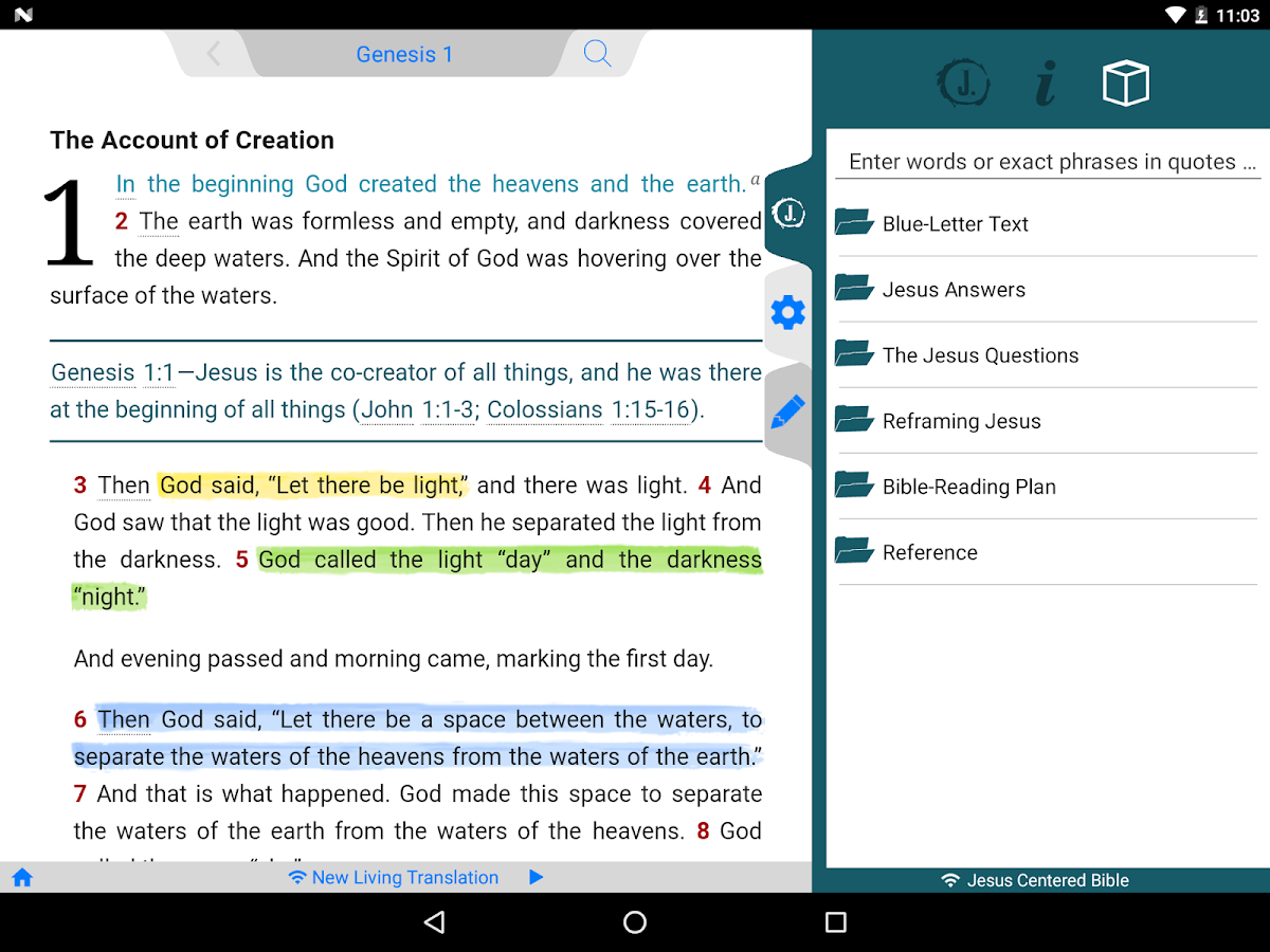 jesus centered bible android apps on google play