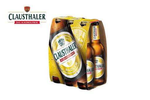 Bild für Cashback-Angebot: Clausthaler Radler - Radeberger