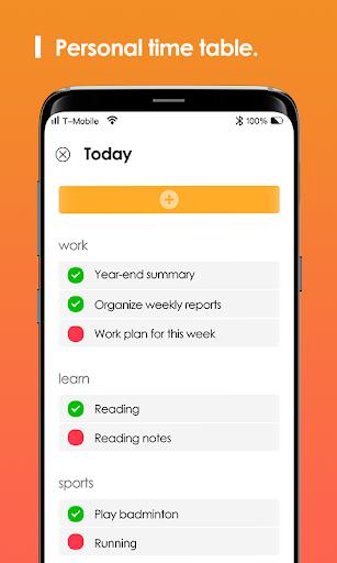Matcha Time Tracker screenshot 2