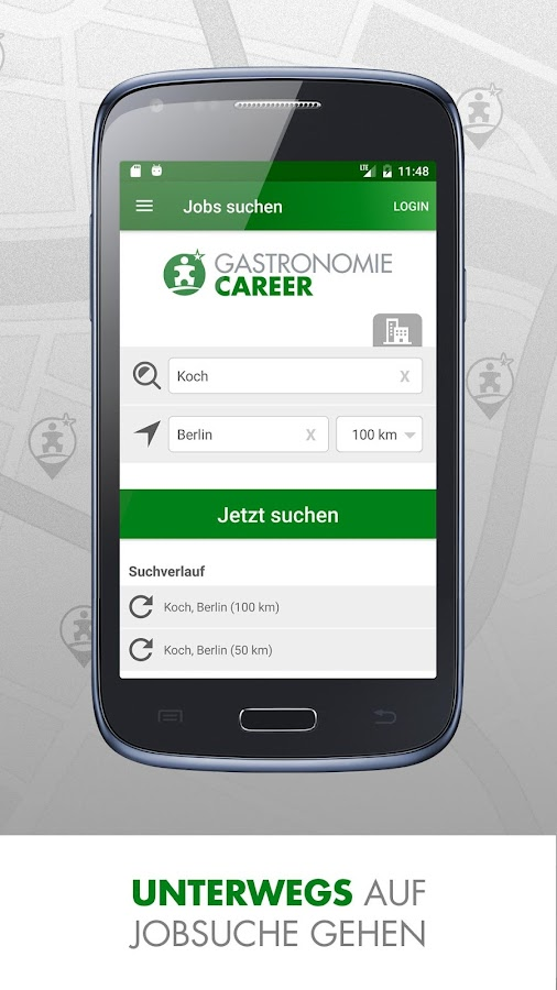 Gastro Jobs: GASTRONOMIECAREER- screenshot