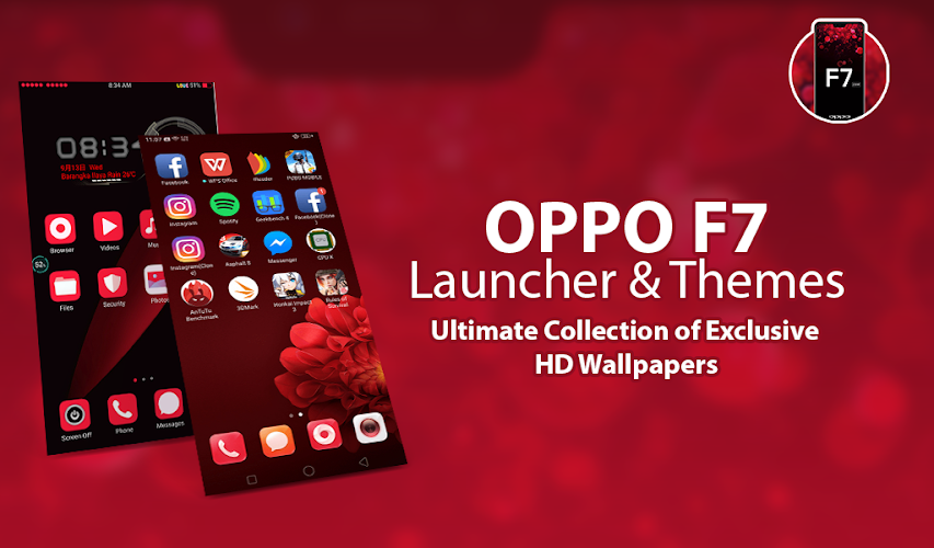 Download Launcher Themes For Oppo F7 Selfie Camera Oppo F7 Apk