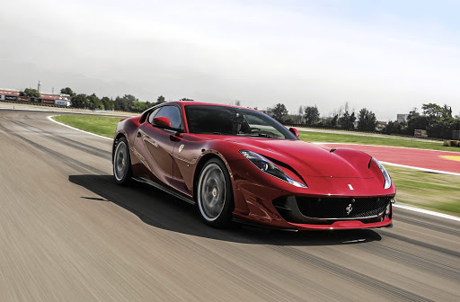 DEFT TOUCH: Every element of the 812 Superfast is a piece of engineering. Picture: FERRARI