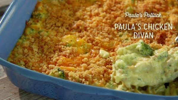 Paula Deen's Chicken Divan Recipe