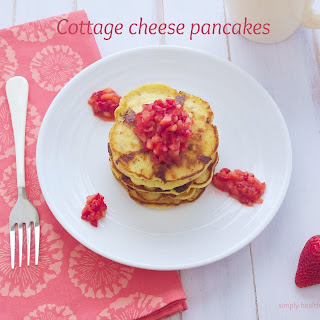 Cottage Cheese Pancakes {Gluten Free}.