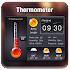 Thermometer Weather Widget