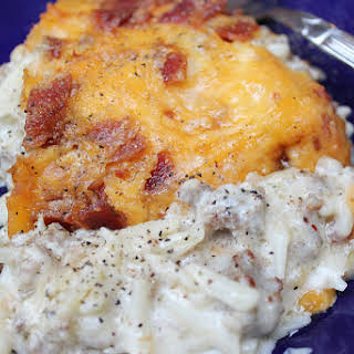 Fully Loaded Hash Brown Casserole.