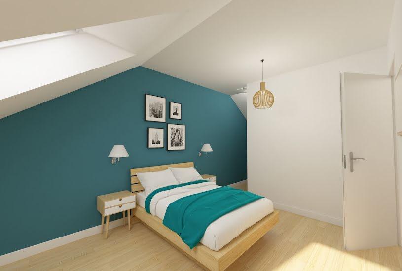 Vente Terrain + Maison - Terrain : 1600m² - Maison : 80m² à Changé (72560)