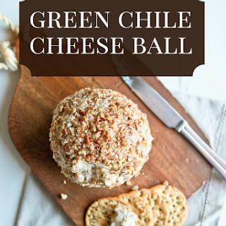 Green Chile Cheeseball Recipe