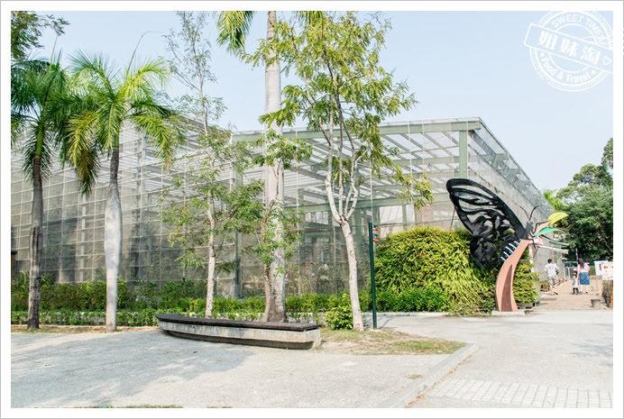 金獅湖蝴蝶園外觀