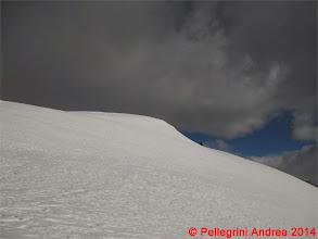 Photo: IMG_6999 Riccardo verso la Cima Forzellina, tutto in traverso lui