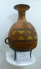 Photo: In the Science Museum, Inca vase
