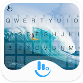 TouchPal Surf Keyboard Theme