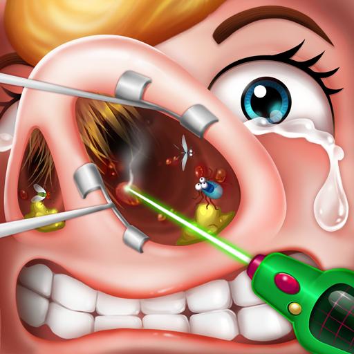鼻の手術シミュレーター - 無料ドクターゲーム 休閒 App LOGO-硬是要APP