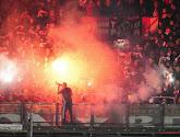 """""""Hersenloze!"""" - Feyenoord-fan vol in het gelaat geraakt door vuurpijl"""