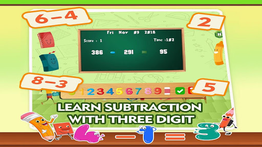Learning Math Subtraction Game 1.4 screenshots 1