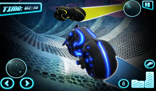 Tron Bike Stunt Racing 3d Stunt Bike Racing Games 101 gameplay | by HackJr.Pw 13