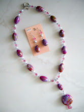 Photo: PCM- 101 Necklace and earrings set. $79.00
