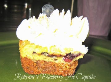 Robynne's Blueberry Pie Cupcakes Recipe