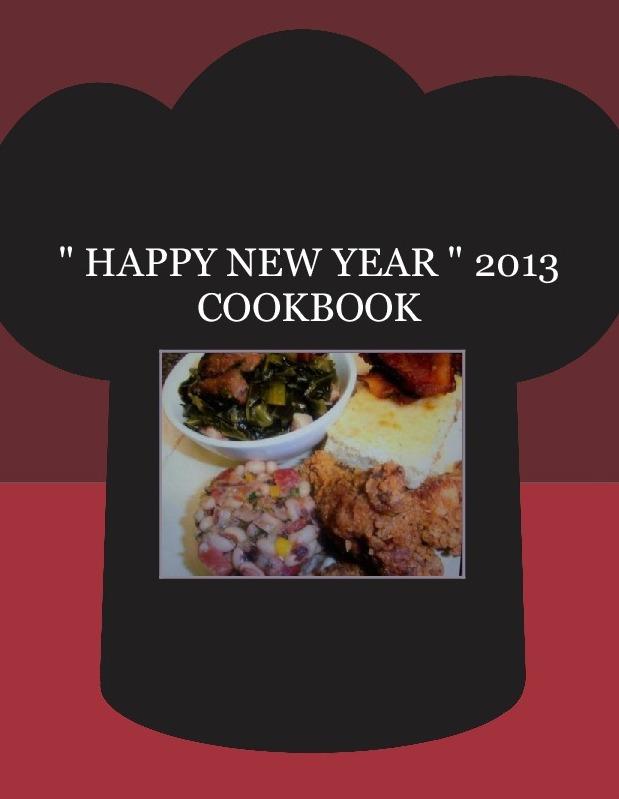 """ HAPPY NEW YEAR "" 2013 COOKBOOK"