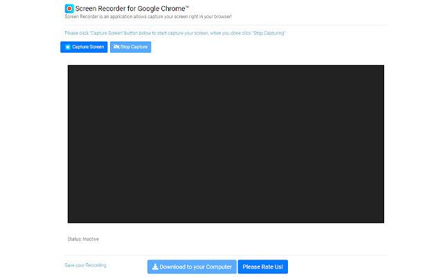 مسجل الشاشة لجوجل كروم