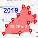 Land Area Calculator - Distance Calculator Map icon