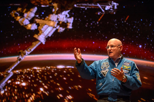 Scott Kelly Post-Flight Visit to Washington