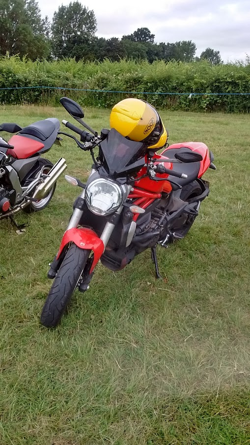 Ducati Monster 1200 Earls Barton