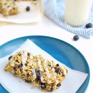 Lemon Blueberry Breakfast Bars (Gluten free, Dairy free).