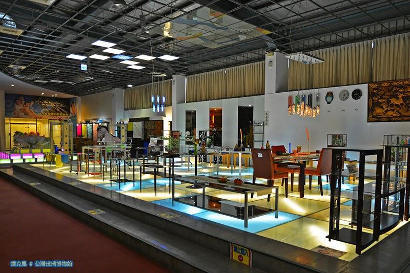 台灣玻璃館生活傢俱展示