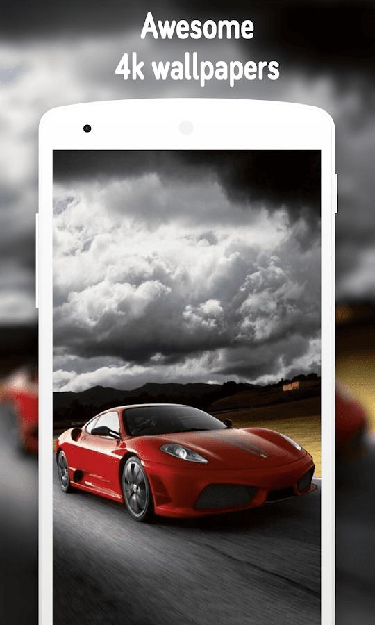 Sports Car Wallpaper K Screenshot