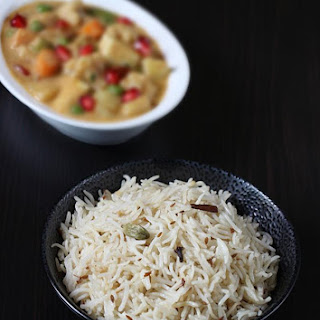 Jeera Rice Recipe, How To Make Jeera Rice (jeera Pulao)