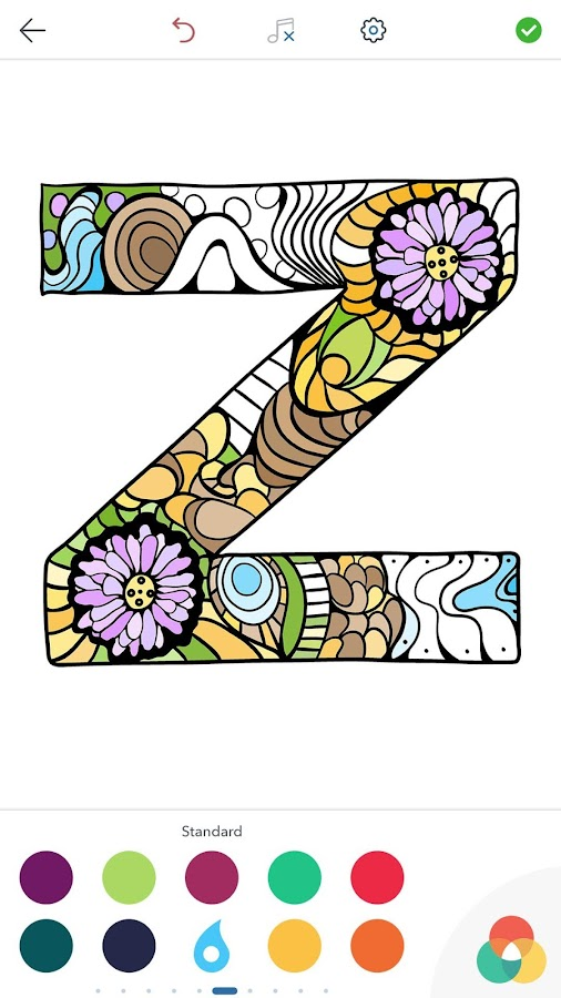 Alphabet Coloring Pages- screenshot