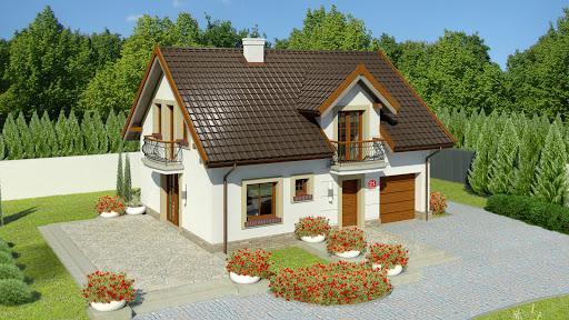 projekt Dom przy Alabastrowej 21