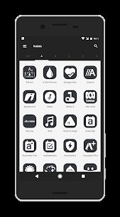 Shiroimono icon pack Apk v3 Android 2