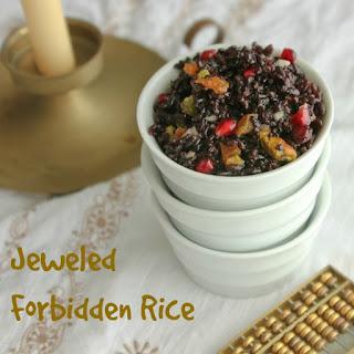 Jeweled Forbidden Rice.