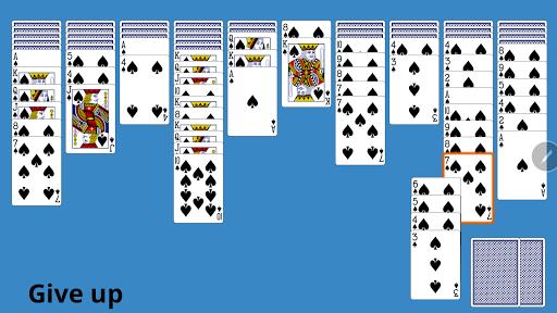 Classic Spider Solitaire 3.9 screenshots 3