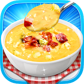 Cheese Soup - Hot Sweet Yummy Food Recipe