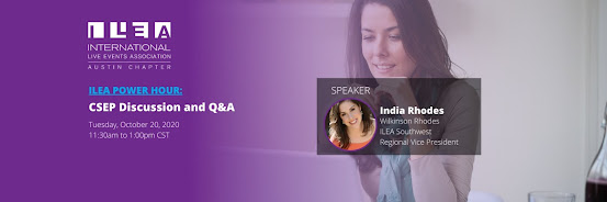 ILEA Austin Member Only Power Hour: CSEP Discussion and Q&A with India Rhodes