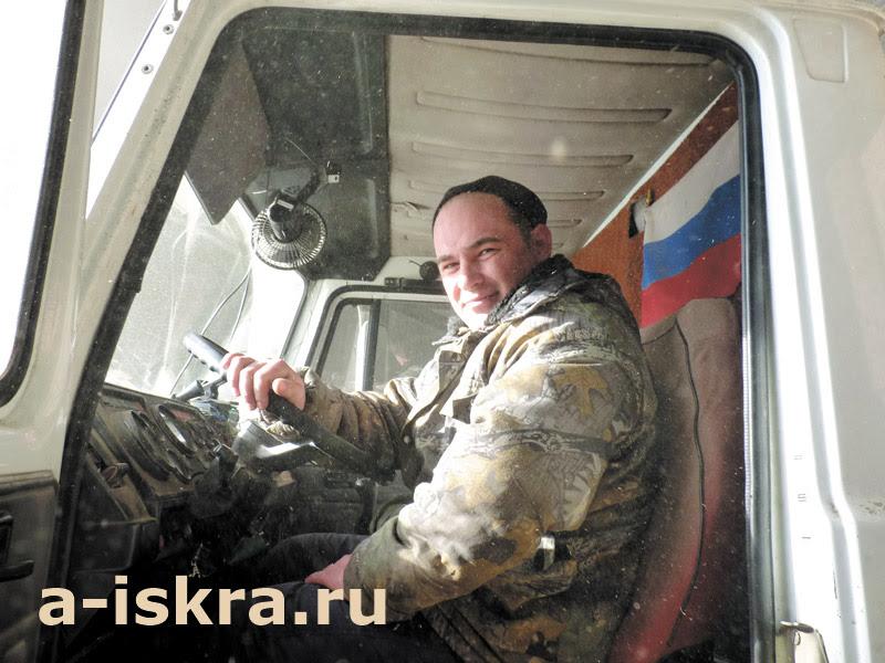 Водитель Роман Загребин всю посевную проведёт за рулём
