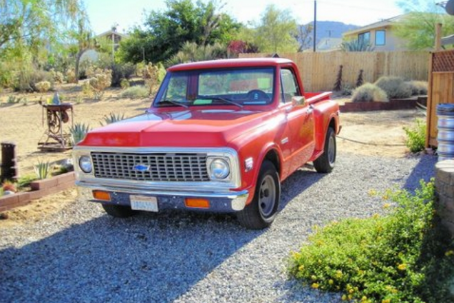 1972 Chevy C10 Hire CA