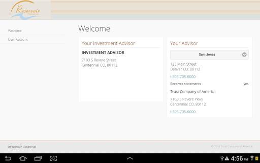 Reservoir Financial