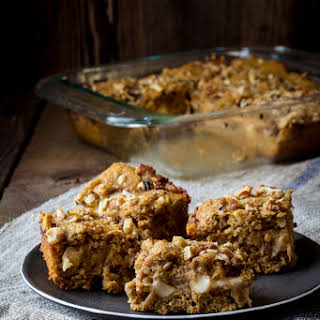 Apple Oatmeal Bars with Cabot Cheddar.