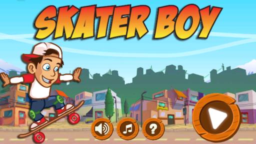 Street Extreme Skater Boy