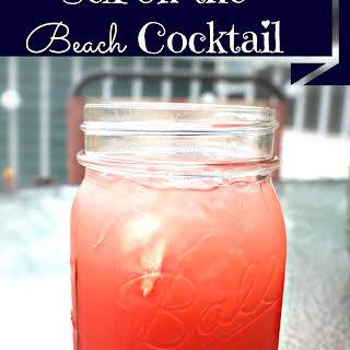 Sex on The Beach Cocktail.