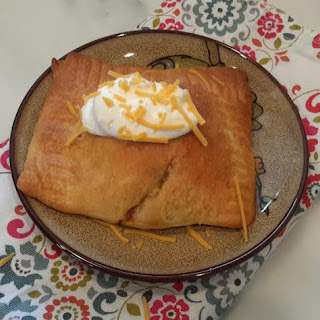 Beef Enchilada Pockets